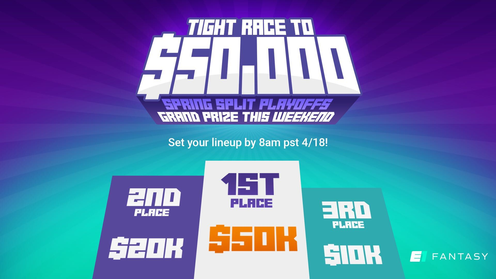 The Race to $50K