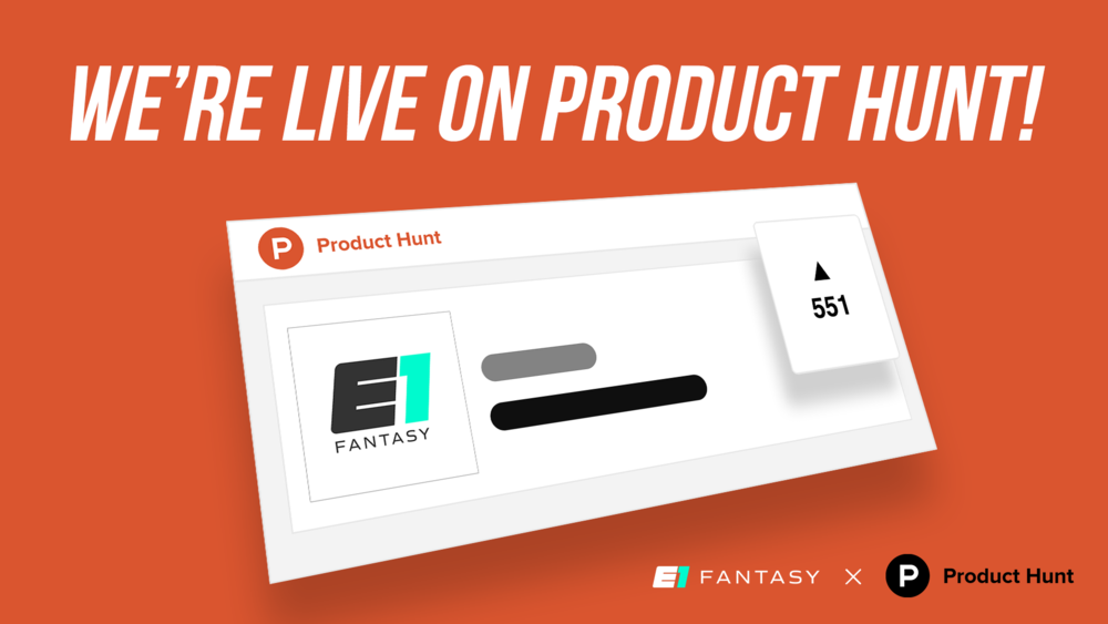 E1 fantasy is live on product hun