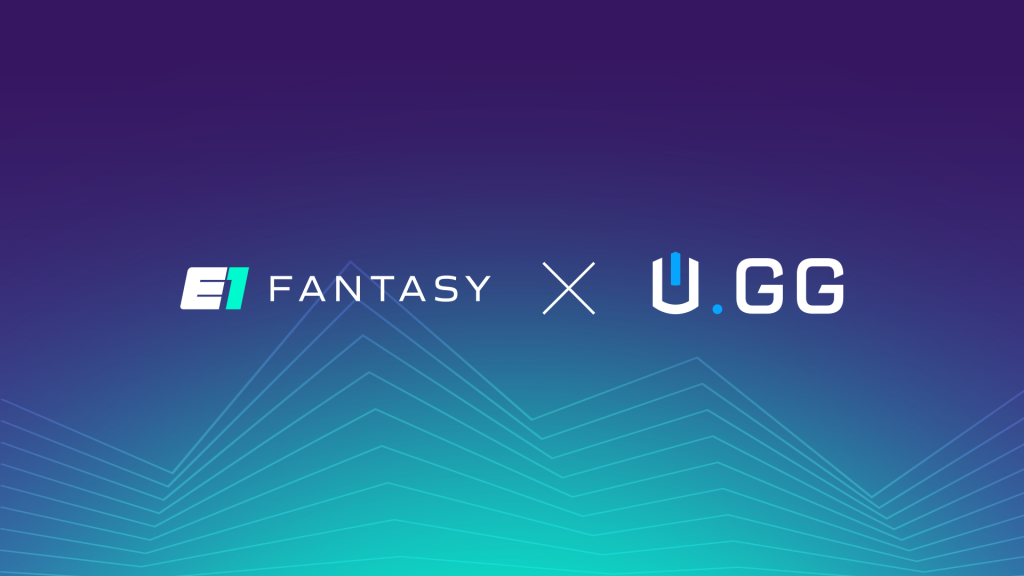 E1 Fantasy and U.GG Partnership Cover Image