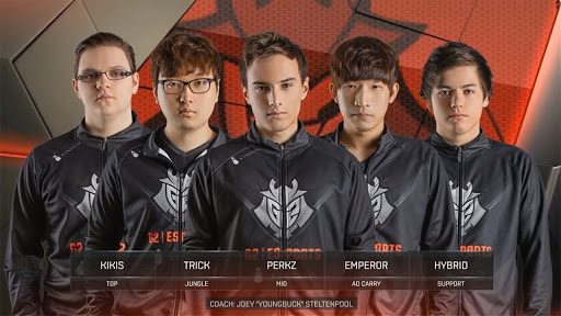 G2 Esports 2016 Roster