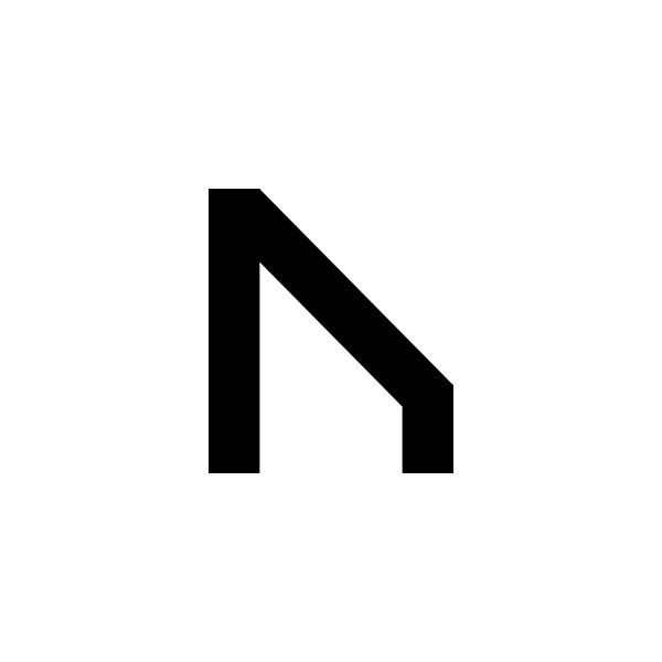 Nordavind White Team Logo