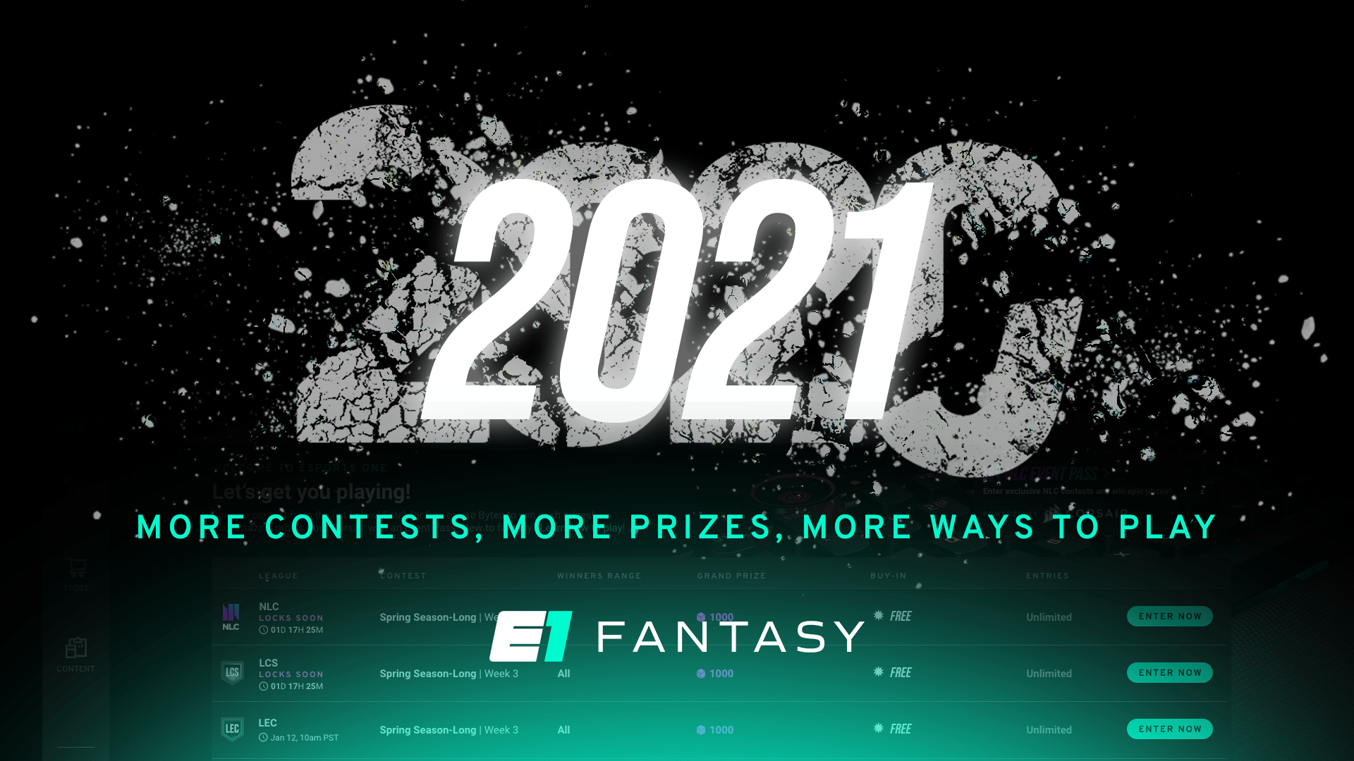 Fantasy Updates Coming in 2021