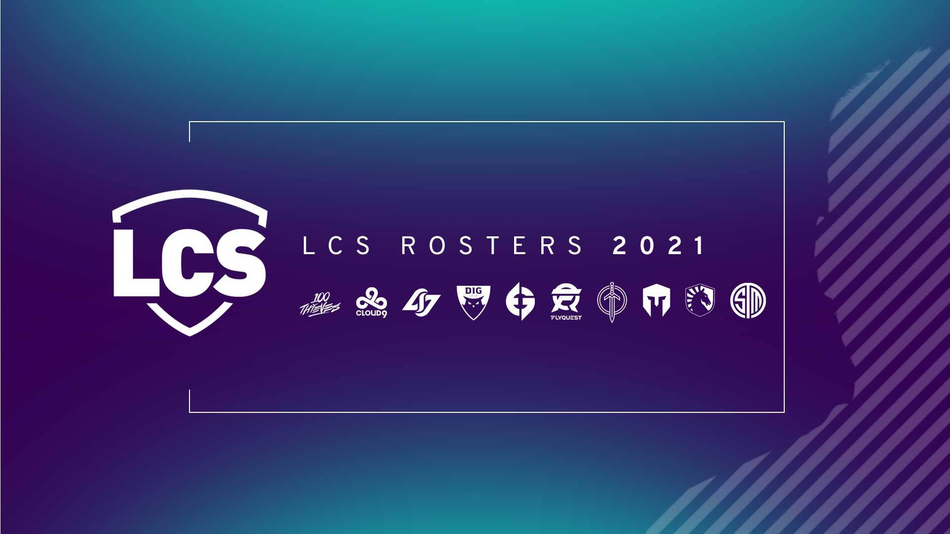 Official LCS Rosters 2021