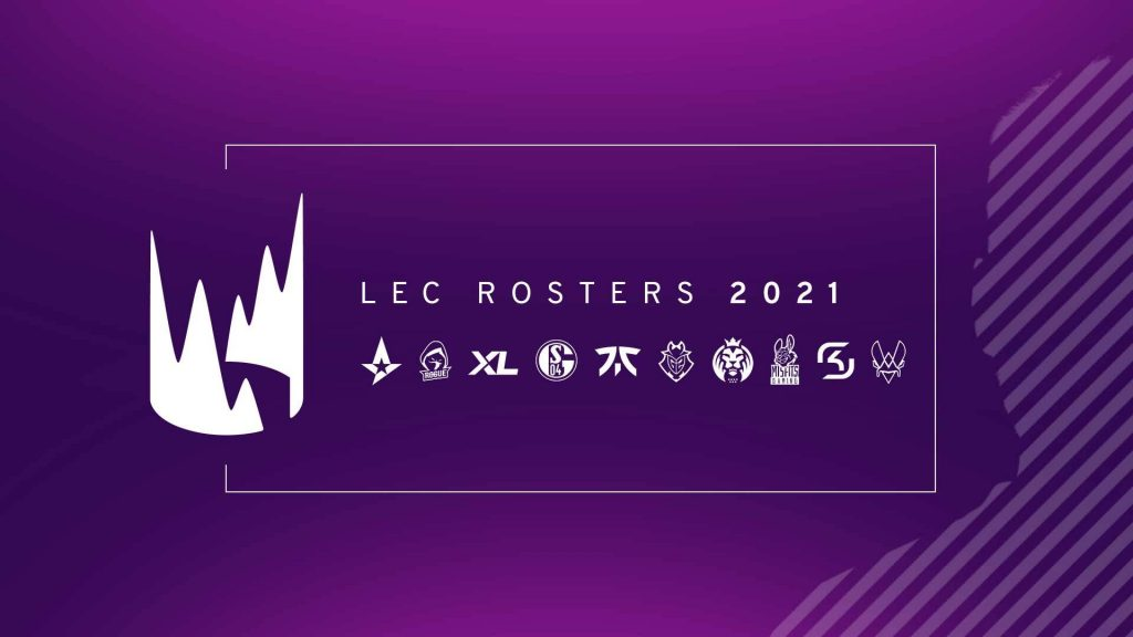 LEC Rosters 2021