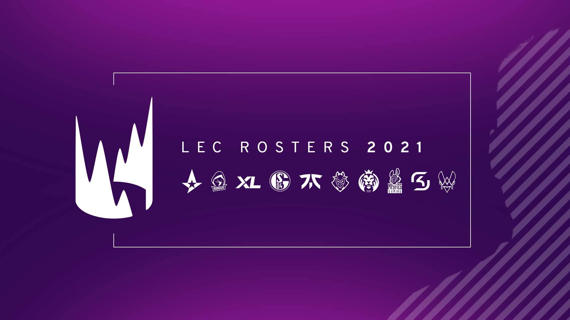 Official LEC Rosters 2021